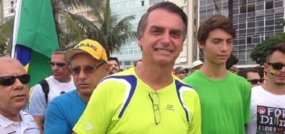 Jair Bolsonaro quer ser o presidente da República (Foto: Nina Ramos/IG)