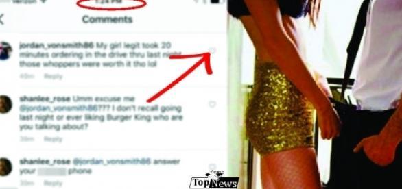 Jovem faz postagem comum no Instagram e detalhe faz traição ser descoberta