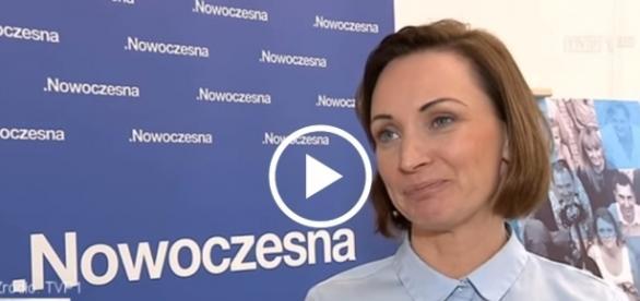 Posłanka Nowoczesnej pomyliła się i błędnie określiła Tuska jako szefa Parlamentu Europejskiego.