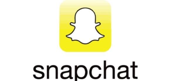 Snapchat logo image via Flickr.com