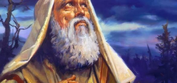Ilustração de Abraão, importante personagem bíblico.