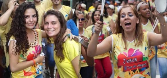 Carnaval Gospel.Foto reprodução: GospelMinas