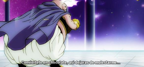 Dragon Ball Super 79 Majin Boo convierte en Chocolate a Básil