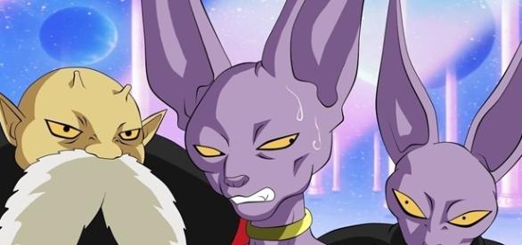 Dragon Ball Super El participante del dios destructor payaso, se parece a Bills