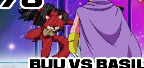 Le match d'exhibition: Univers 7 contre Univers 9 ! Buu vs Basil !