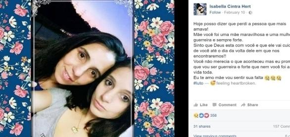 Maira foi morta pelo seu pai por causa de herança familiar