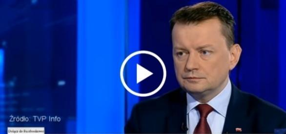 Minister Błaszczak odniósł się również do skandaliczny komentarzy ze strony opozycji.