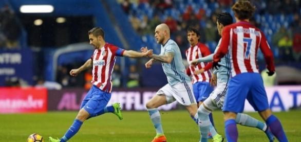 O Atlético precisava vencer para alcançar o Real Madrid na briga pelo título.