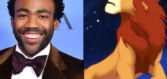 Donald Glover será o agitado príncipe Simba, no live-action de O Rei Leão