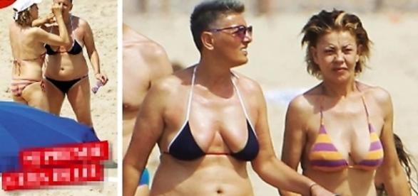 Eva Grimaldi è fidanzata con Imma Battaglia?