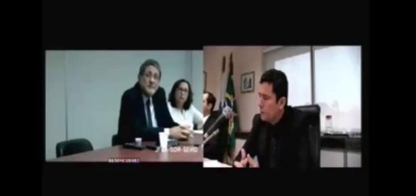 Ex-presidente da Petrobrás dá depoimento para Sérgio Moro