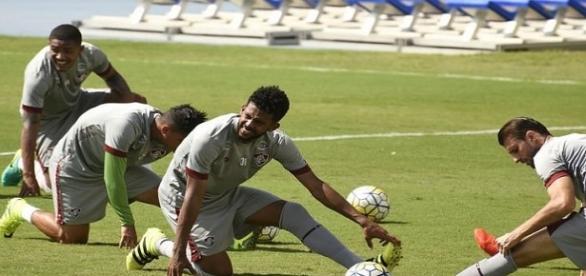 Renato Chaves sofre lesão na coxa e desfalcará o Fluminense nos dois próximos jogos da temporada (Foto: Mailson Santana/Divulgação FFC)
