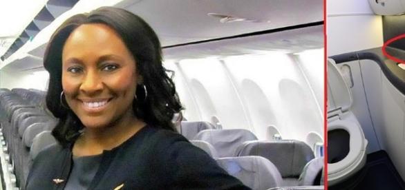 Aeromoça salva adolescente de tráfico humano