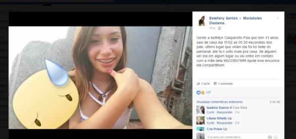 Amigos pedem ajuda para encontrar a garota