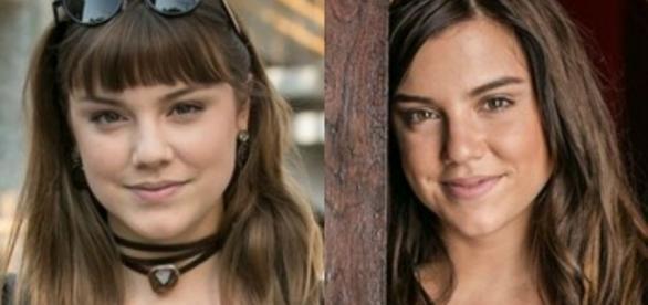 Isabela e Marina na novela 'A Lei do Amor' (Divulgação/Globo)