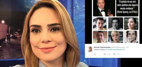 "Raquel Sheherazade apresenta o ""SBT Brasil"""
