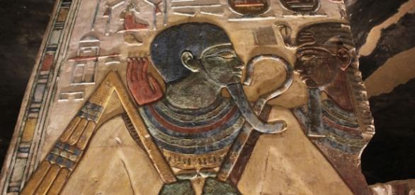 Tumba do faraó Seti. Egito continua inspirando o cinema.