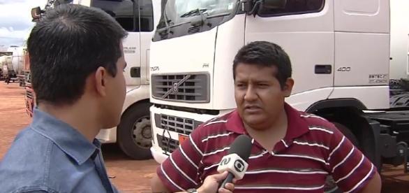 Boliviano fala sobre preço de gasolina