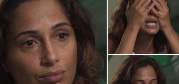 Camila Pitanga foi um dos alvos da raiva da apresentadora