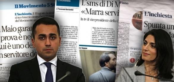 Di Maio smonta le bufale dei giornali di Regime sul rapporto tra lui e Marra