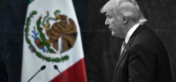 Donal trump en debatiendo en mexico