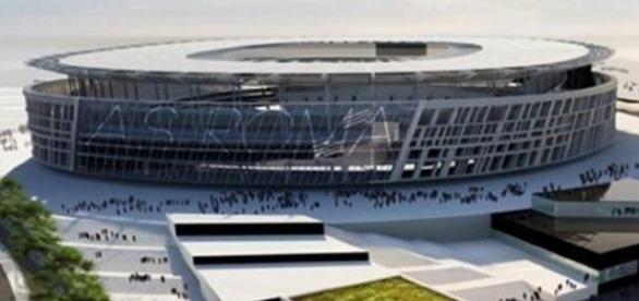 Il progetto dello stadio della A.S. Roma