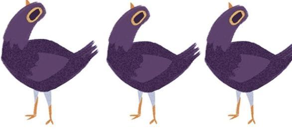 Internautas criaram petição para probir o pássaro roxo na internet
