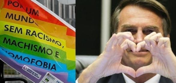 Jair Bolsonaro defende que a maioria prevaleça sobre a minoria.
