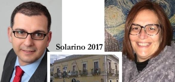 Lia Valenti annuncia la sua candidatura con Michele Gianni