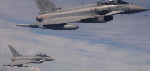 Los Eurofighters españoles surcaran el cielo americano.