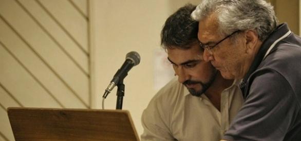 Padre Fábio de Melo já entrou em estúdio para a gravação do seu mais novo CD (Foto: Reprodução/Facebook)