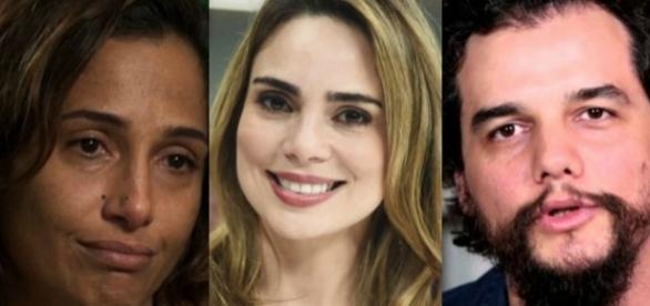 A jornalista Raquel Sheherazdde (centro) continua alimentando a polêmica com Camila Pitanga e também atacaou Wagner Moura
