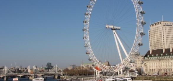 A London Eye é um dos pontos mais visitados pelos turistas