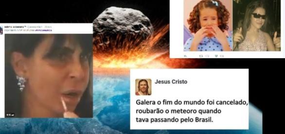 Fim do mundo 'é cancelado' no Brasil e a zoação não tem limites; veja