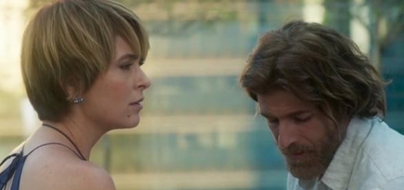 Helô e Pedro na novela 'A Lei do Amor' (Divulgação/Globo)
