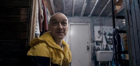 """James McAvoy es el protagonista del la película """"Fragmentado"""""""