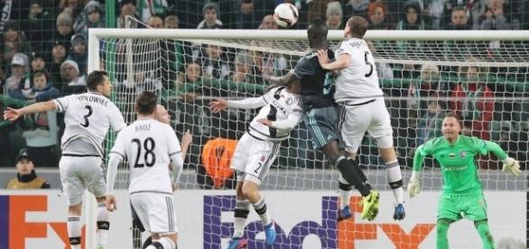 O Ajax criou mais oportunidades de gol durante o jogo