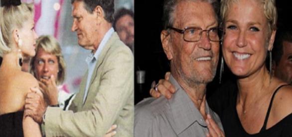 Xuxa perdoa o pai e o visita em hospital - Google