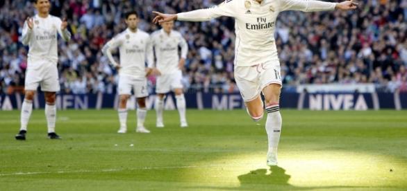 Bale volvió y marcó para un Madrid que sigue como líder sólido - Palabra de ... - palabradefutbol.com