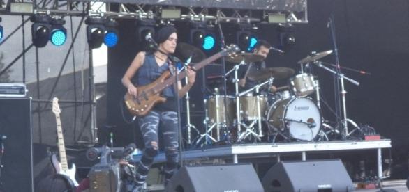 Eruca Sativa, la banda que abrió el escenario de la primera edición de Cosquín Rock México.