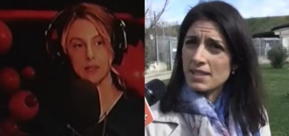 Marianna Madia e Virginia Raggi.