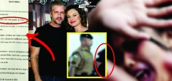 Surgem novas informações sobre a agressão de Vitor à esposa