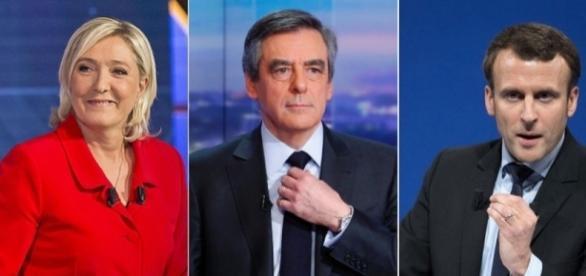 Présidentielle 2017 : Marine Le Pen en tête au 1er tour