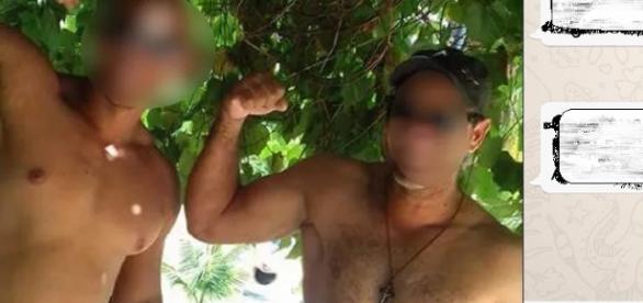 Suspeitos de estuprar menor de 12 anos são presos e ouvidos. Padrasto fica calado e personal joga a culpa integral no amigo.