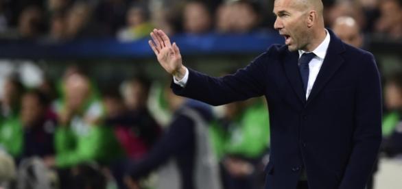 Zinédine Zidane s'adresse au PSG