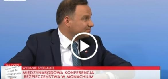 Andrzej Duda wziął udział w międzynarodowej konferencji do spraw bezpieczeństwa.