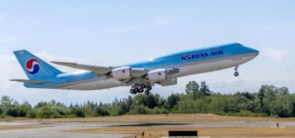Boeing 747-8 Korean Air   FLUG REVUE - flugrevue.de