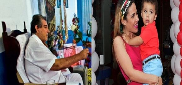 Doença de filho de Wanessa Camargo foi curada por médium