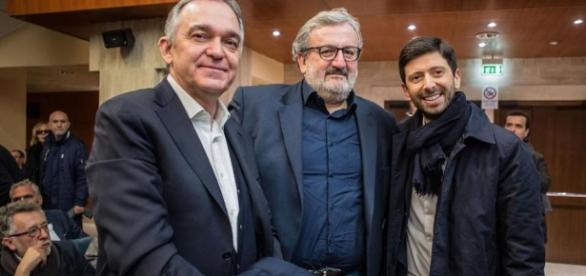Enrico Rossi, Michele Emiliano e Roberto Speranza lanciano l'ultimatum a Renzi e al PD