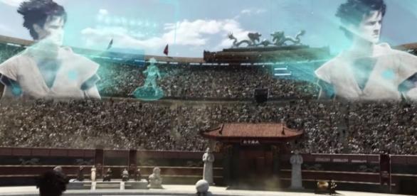 Imagen de Goku en el torneo de artes marciales